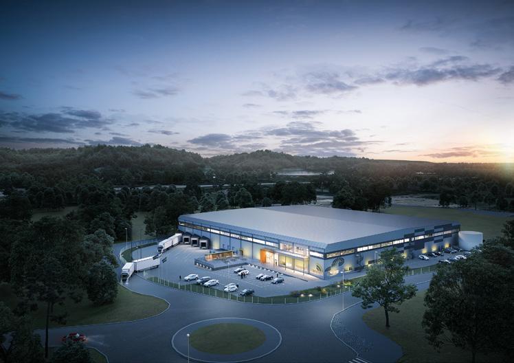 Page 40 of Logistic Contractor bygger svenskt huvudkontor och