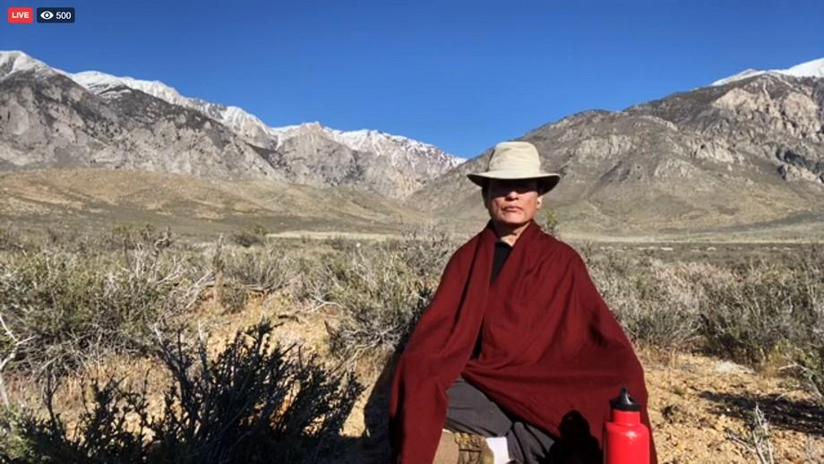 Page 4 of A Letter to Students from Tenzin Wangyal Rinpoche