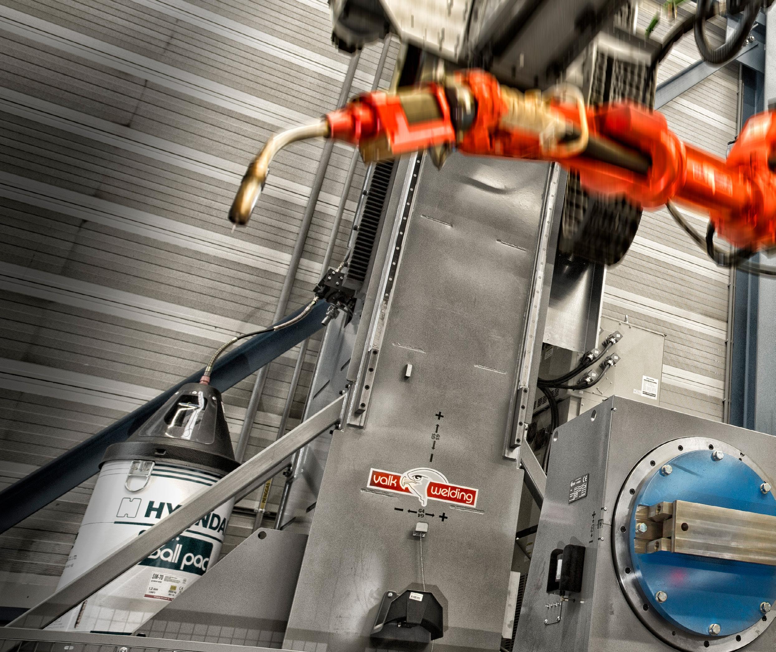 Page 20 of Samen Slim': De Waal toont ontwikkeling hightech lasrobot