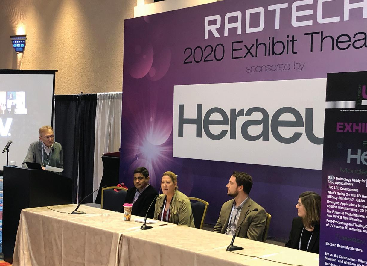 Page 34 of High-Energy Discussions at RadTech UV+EB Conference