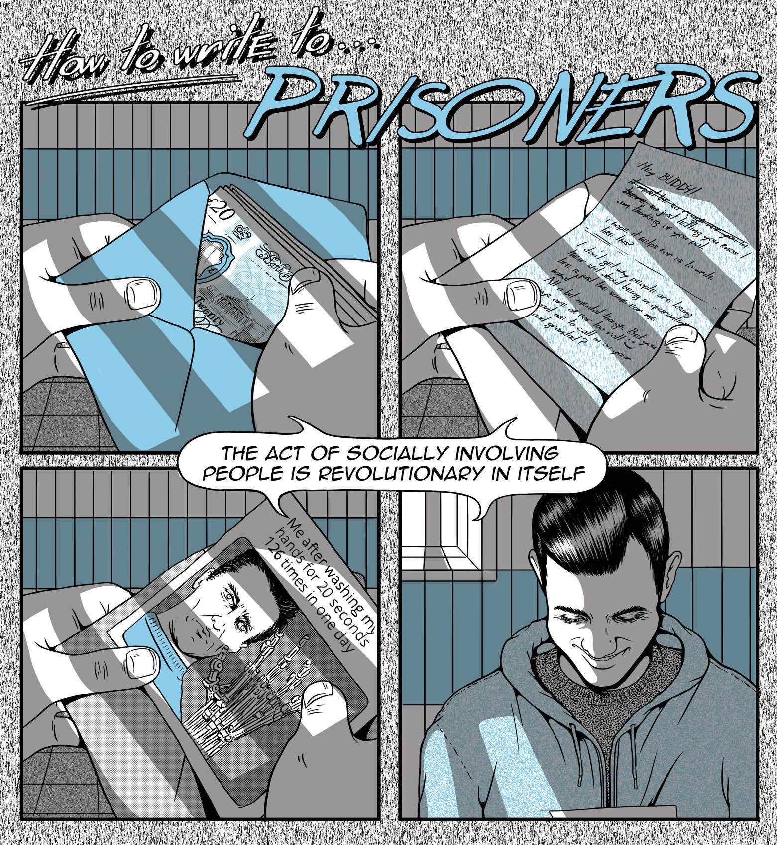 Read story: How to Write to Prisoners
