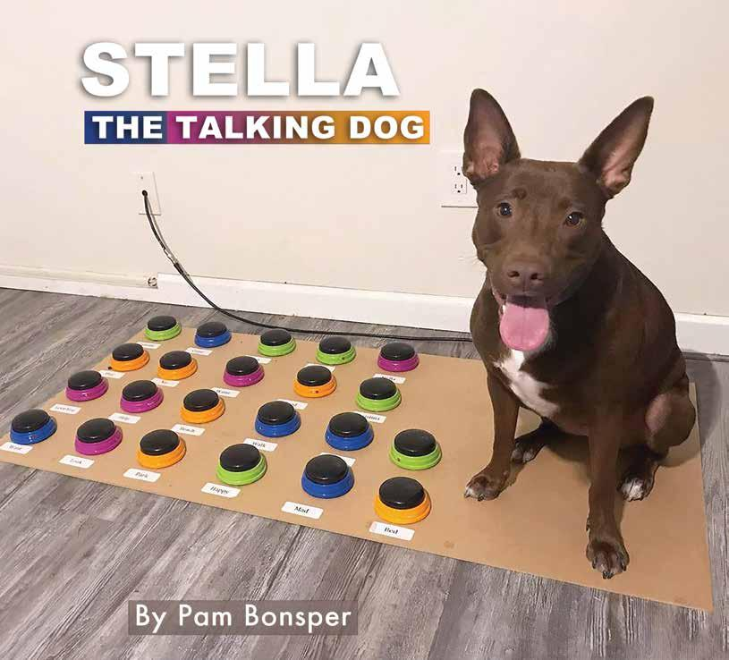 Page 18 of Stella, The Talking Dog Putting mom's speech therapy