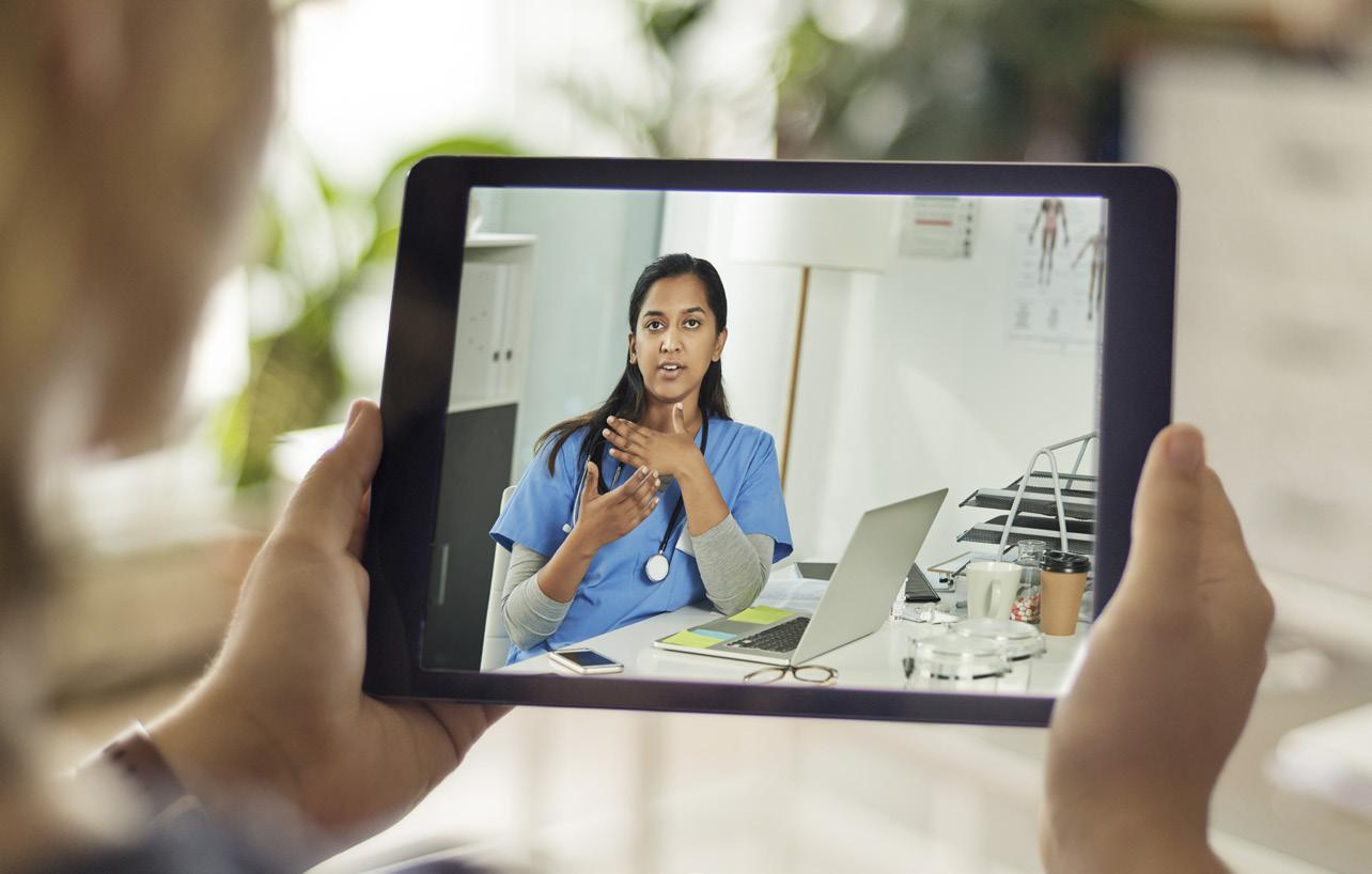 Page 20 of Practicing Remotely: How Providers Have Adjusted to Using Telehealth During COVID-19