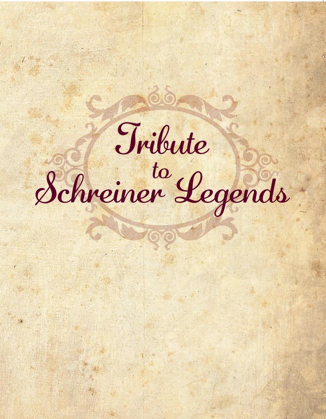 Page 24 of Tribute to Schreiner Legends