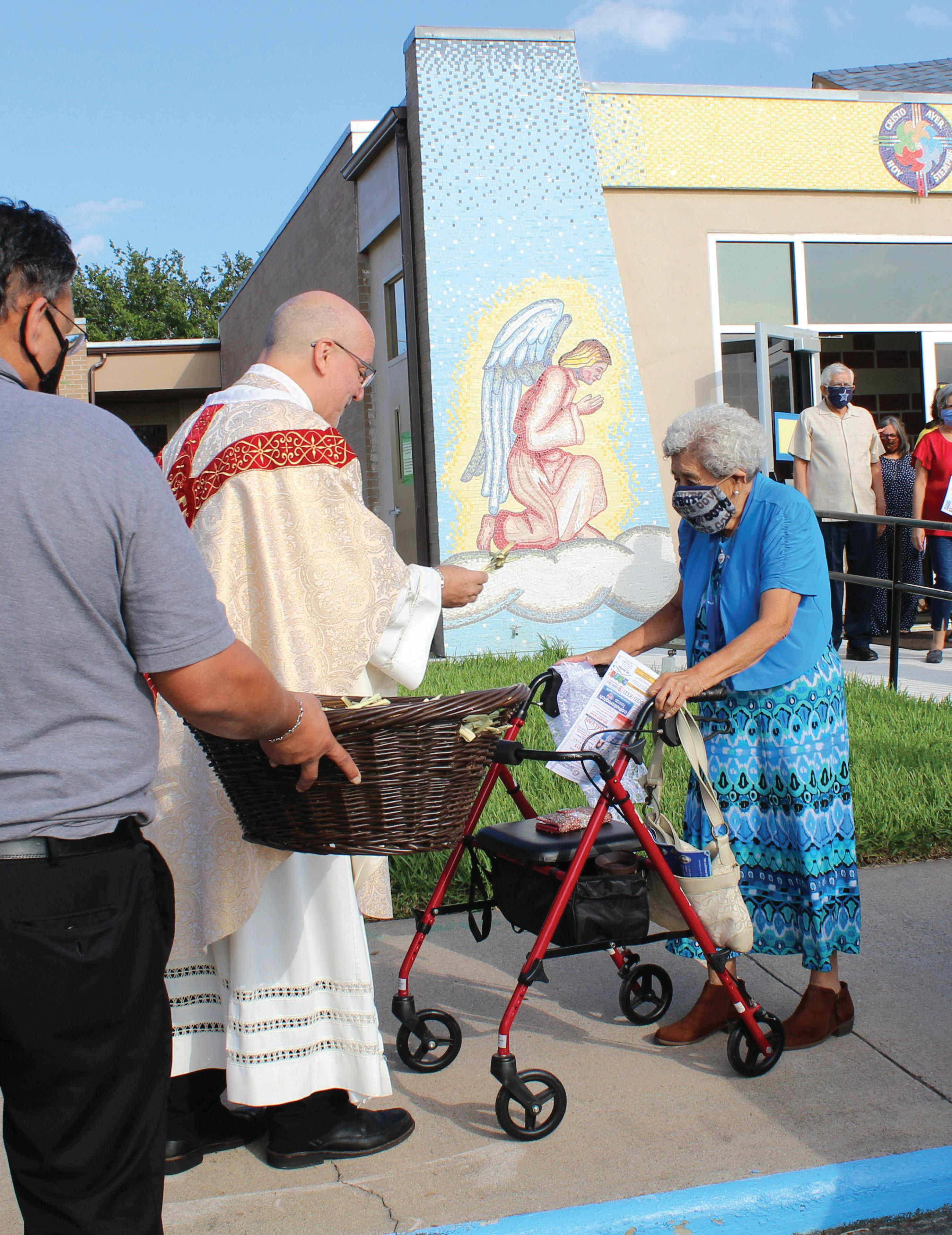 Page 6 of Parishioners return to Mass with passionate hearts and cautious minds amid pandemic