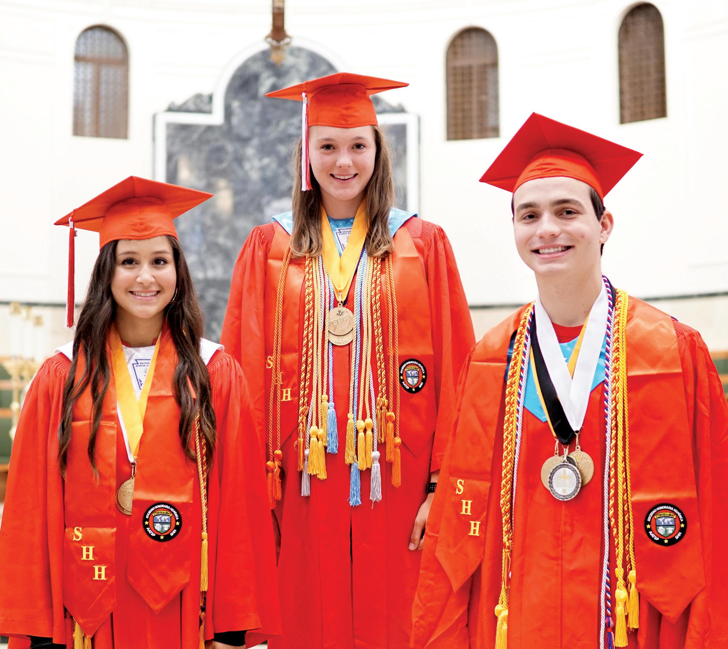 Page 12 of Diocesan Valedictorians and Salutatorians say high schools have prepared them for their future