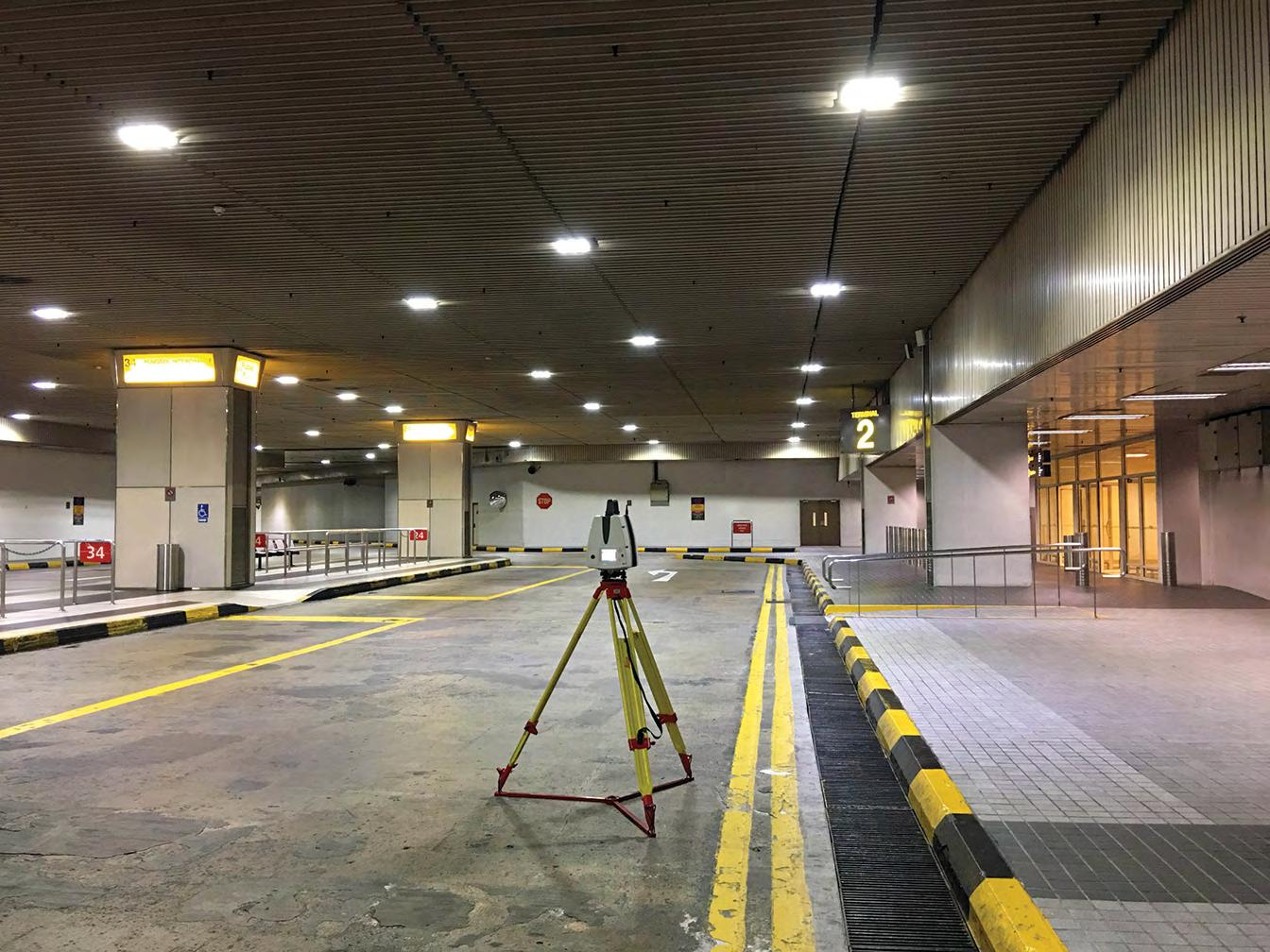 Page 42 of Capturing 'reality' in one of the world's busiest airports The creation of an information-rich 3D model will assist in the operation of Changi Airport Terminal 2