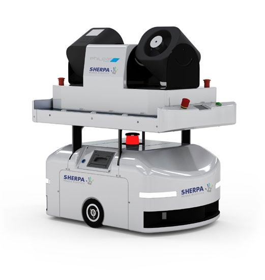 Page 4 of SHERPA MOBILE ROBOTICS EQUIPS ITS MOBILE ROBOTS WITH AN AIRBORNE SURFACE DISINFECTION (ASD) DEVICE