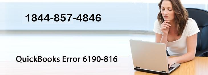Page 1 of QuickBooks Error 6190 -816 | 1844- 857-4846 Unable to open file