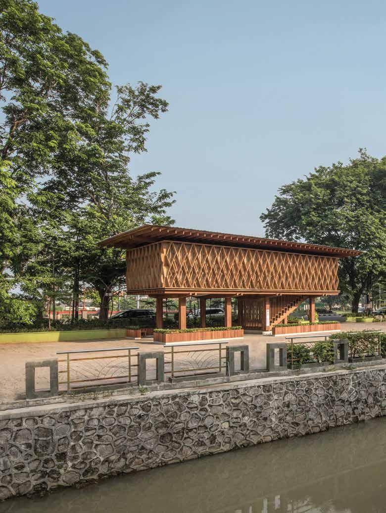 Read story: Microlibrary Warak Kayu Highlights the Potential for Sustainable Wood Construction in Indonesia