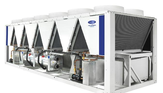 Page 18 of Carrier aquaforce® fixed-speed air-cooled screw liquid chiller is now available with puretec™ hfo refrigerant