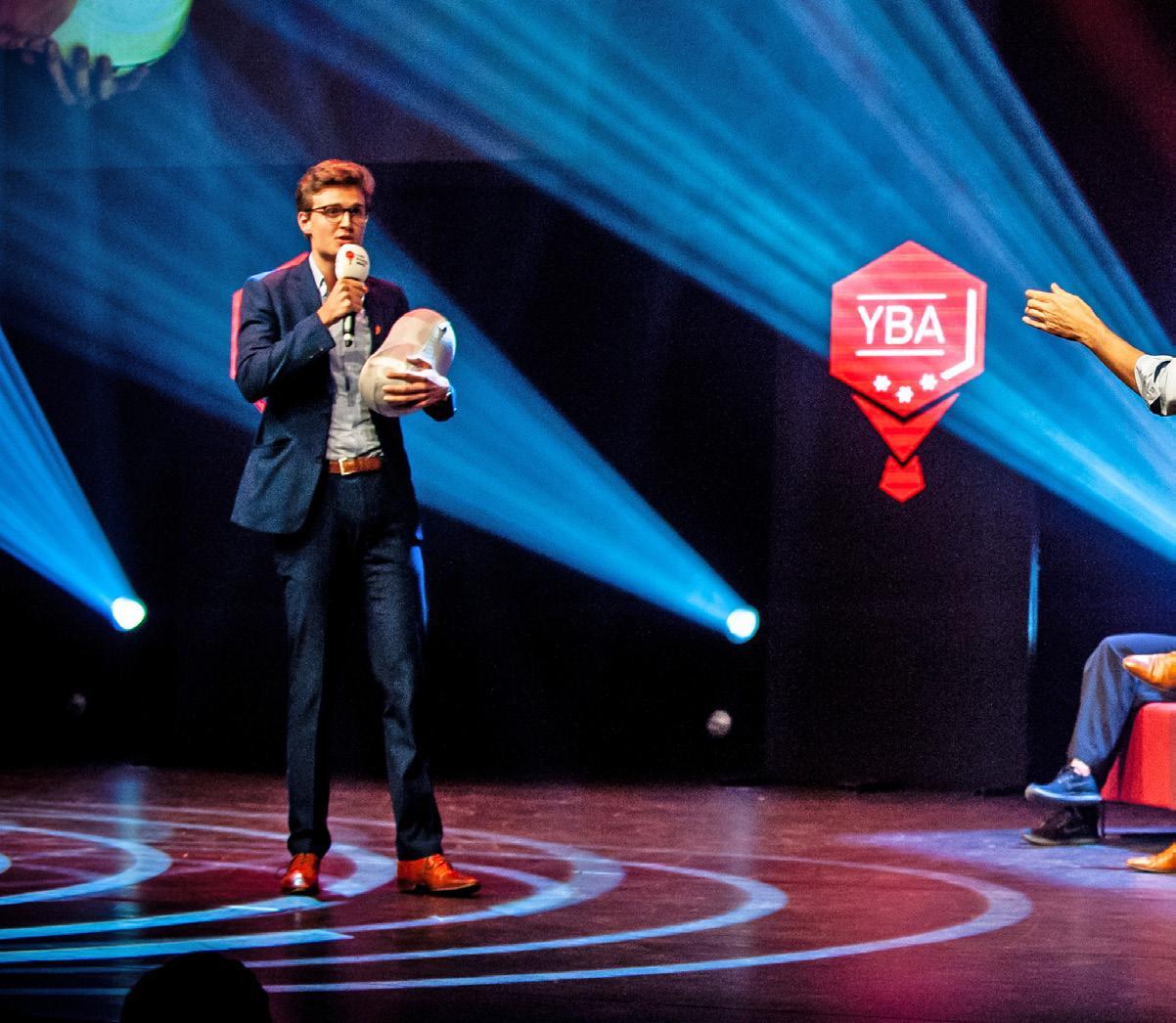 Page 14 of Toekomst van Nederland staat bij YBA op podium