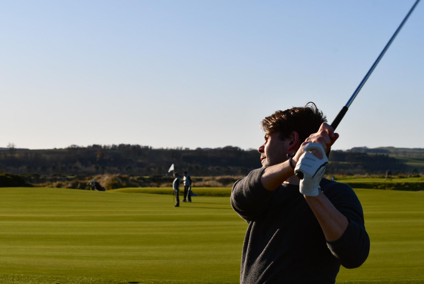 Page 40 of St Andrews Old Course in Reverse Ben Sargent travelled to St Andrews to play The Old Course, the world's most famous links course, in reverse – the way it was regularly played in the 19th century