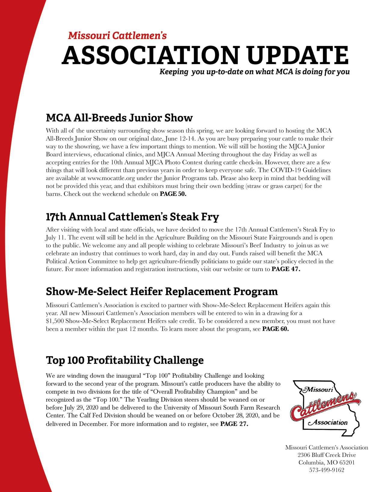 Page 6 of Association Update