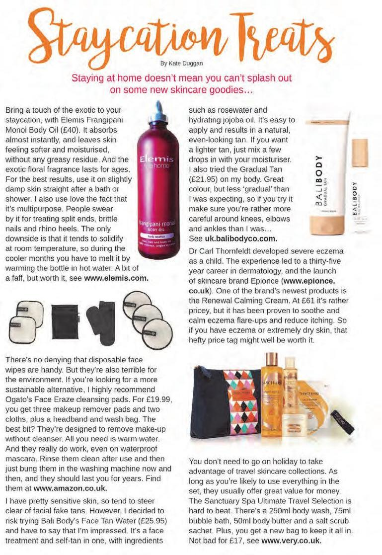 Page 24 of Beauty Feature: Staycation Treats