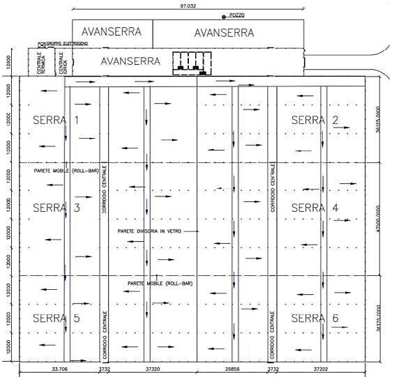 Page 22 of Studio numerico per l'ef cientamento di una serra tramite pompa di calore geotermica e un sistema di diffusione mediante condotte microforate