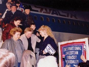 Page 10 of CHRISTIAN EMBASSY MARKS 30 YEARS OF ALIYAH FLIGHTS