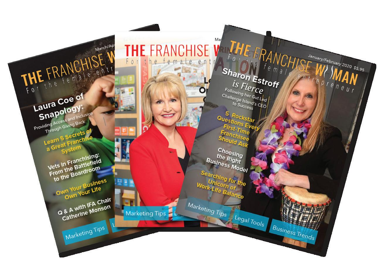 Page 10 of Welcome Rebecca Monet into The Franchise Woman Partnership