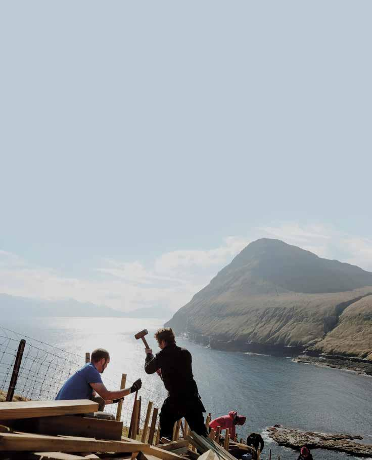 Page 40 of Voluntourism in the Faroe Islands: A Sustainable Nordic Tourism Model