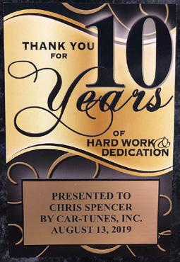 Page 18 of Chris Spencer Celebrates 10 Years, While Essential Business Keeps Things Moving at Car-Tunes Inc.