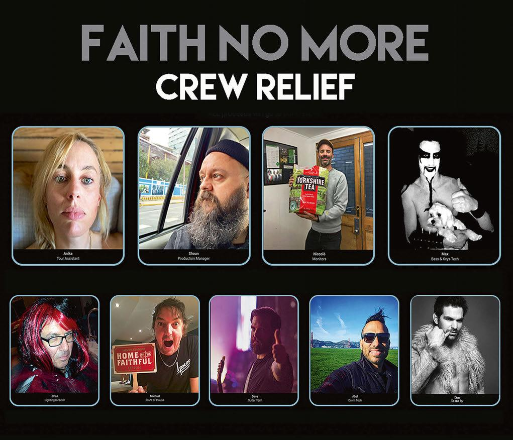 Page 8 of Faith No More: Crew Relief
