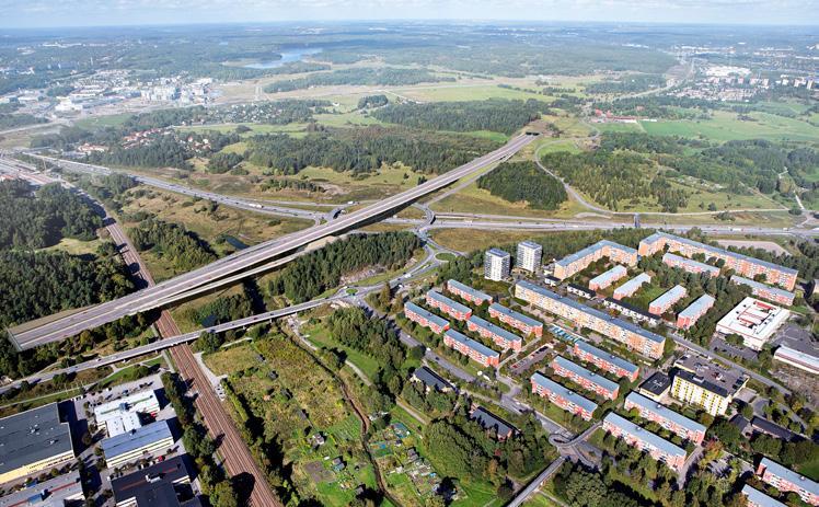 Page 42 of för trafik Utformning av trafikplatser på E18 mellan Jakobsberg och Hjulsta
