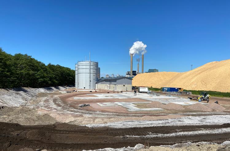 Page 42 of Gasum uppför biogasanläggning i samarbete med Stora Enso i Nymölla