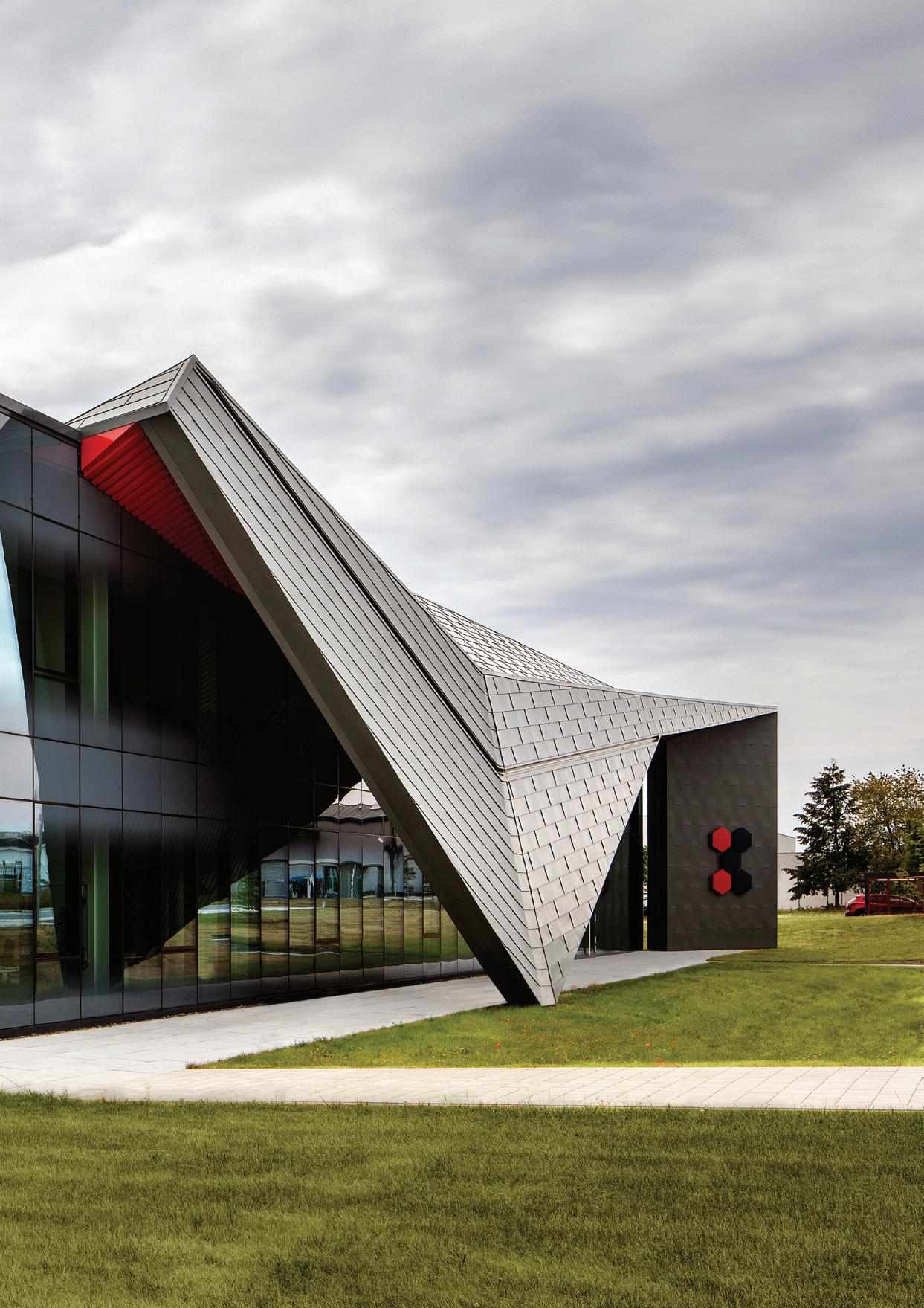 Page 30 of German Pharma company HQ inspired by bold, futuristic design