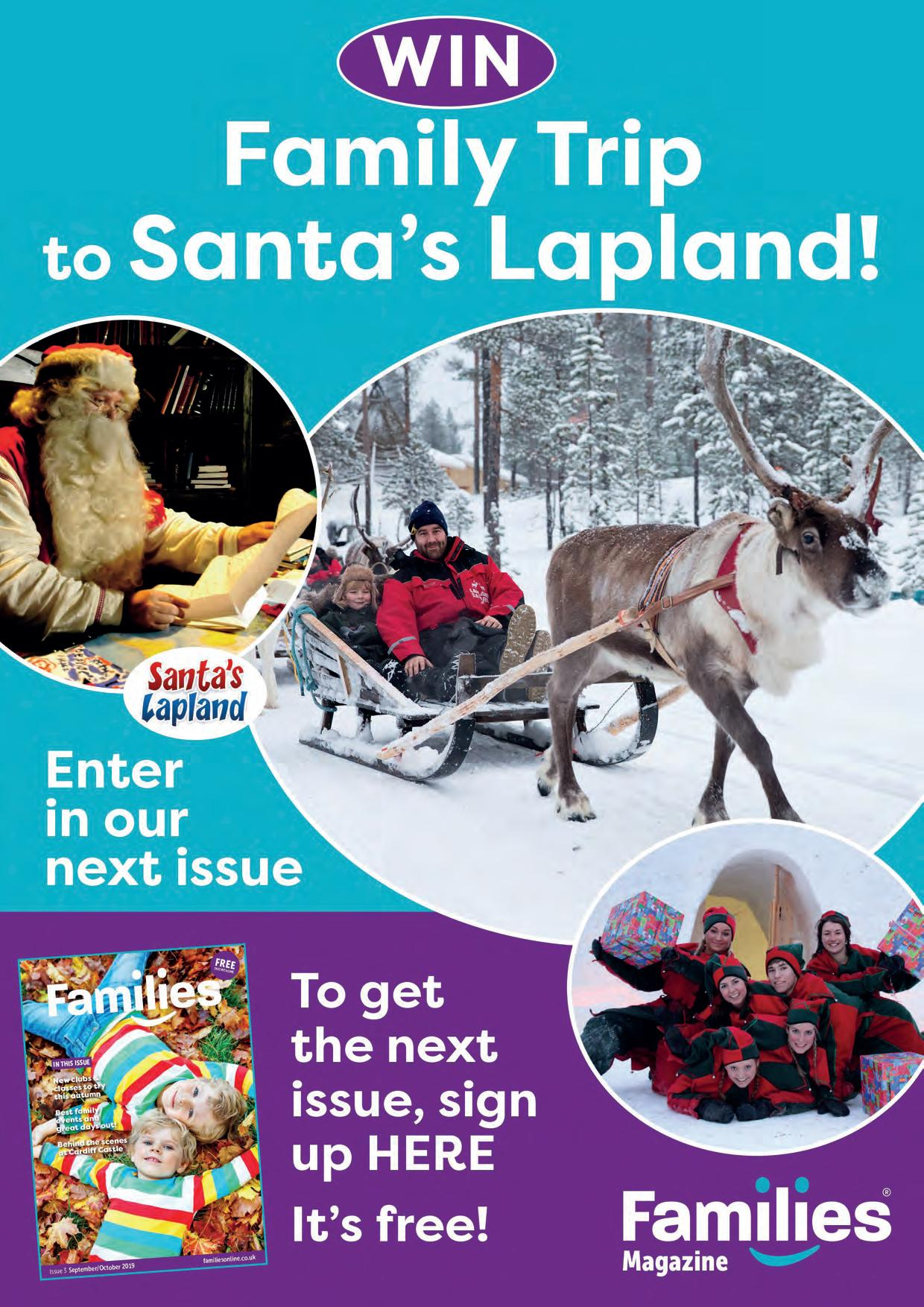 Page 6 of Win a family trip to Santa's Lapland