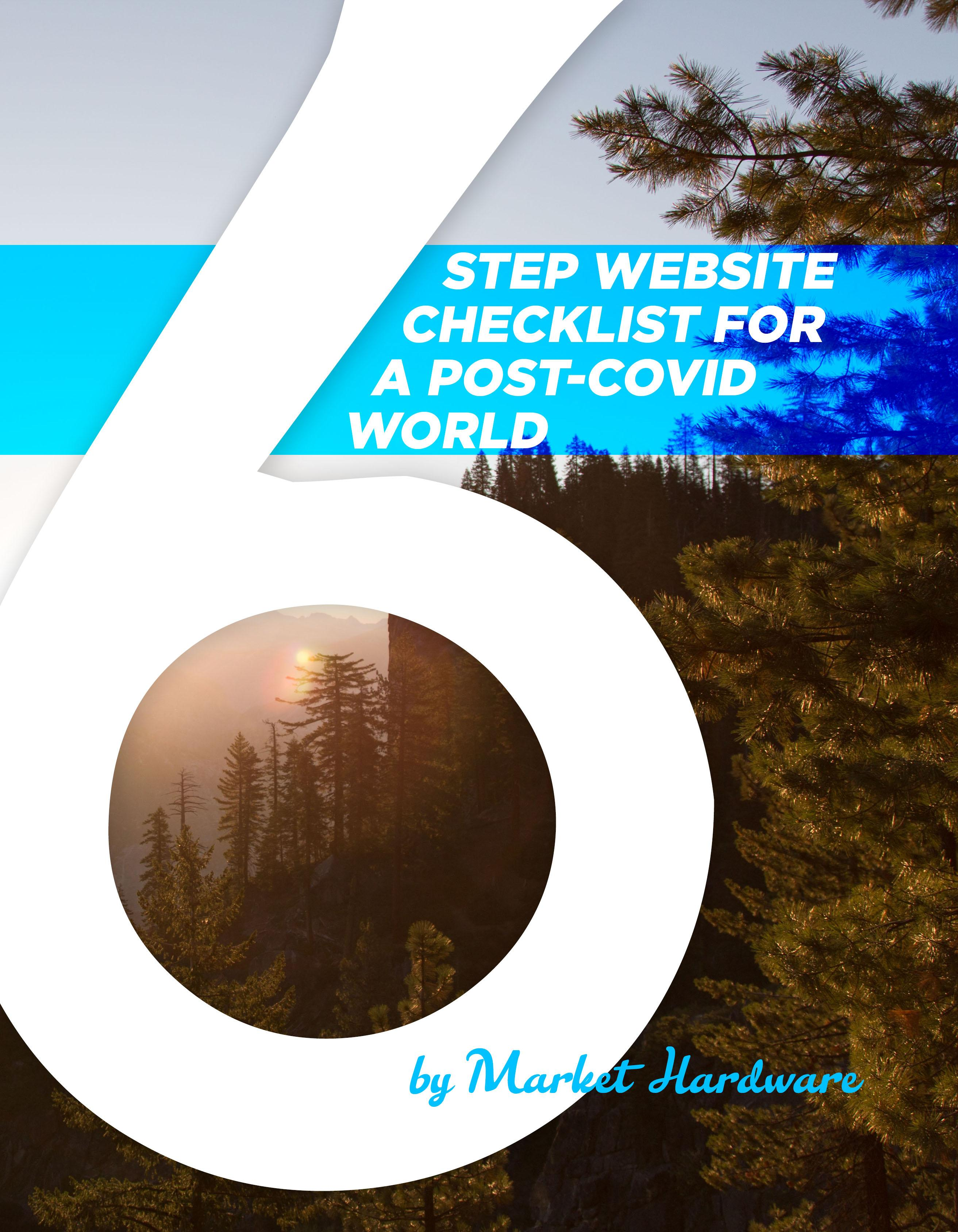 Page 26 of 6 STEP WEBSITE CHECKLIST FOR A POST-COVID WORLD