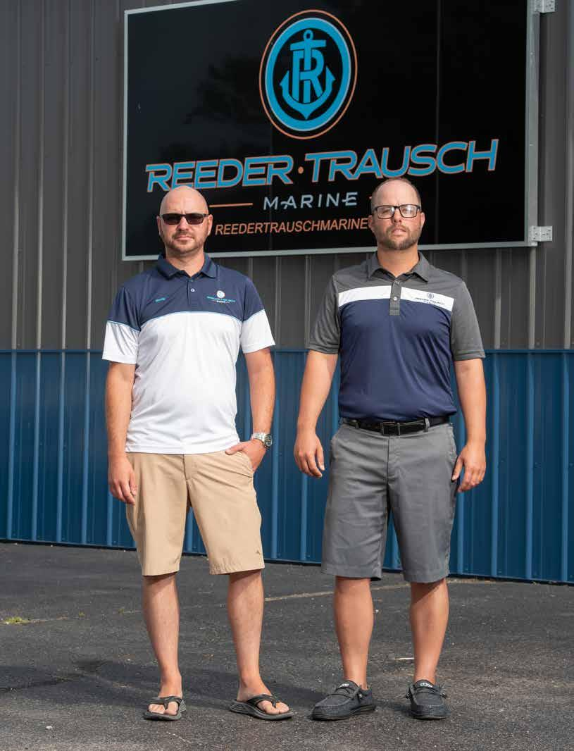 Page 20 of Boating Fever: Two Former Center Grove Students Run Successful Marina