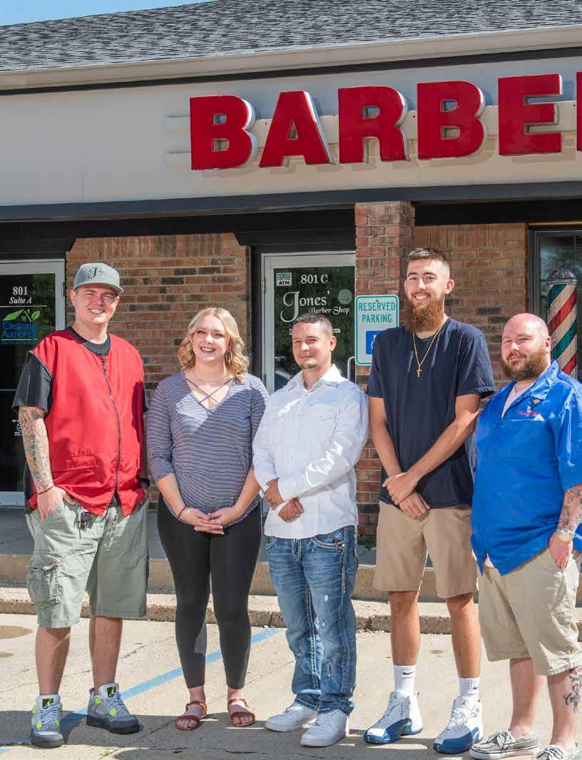 Page 12 of Sharp Approach: Jones' Barber Shop Reopens With Refreshed Interior