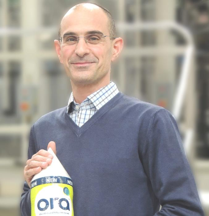 """Page 23 of Camelia: Consumers are getting smarter - and quality prevails. In an awakening market with more and more company start-ups, Serbia's tissue industry is """"in a constant state of growth."""" Here, mill manager Lazar Stevanović looks to the future"""