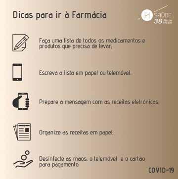 Page 23 of Saúde | Farmácia Alves | A Farmácia Alves e a Covid-19 | Dra. Sofia Lourenço Silva