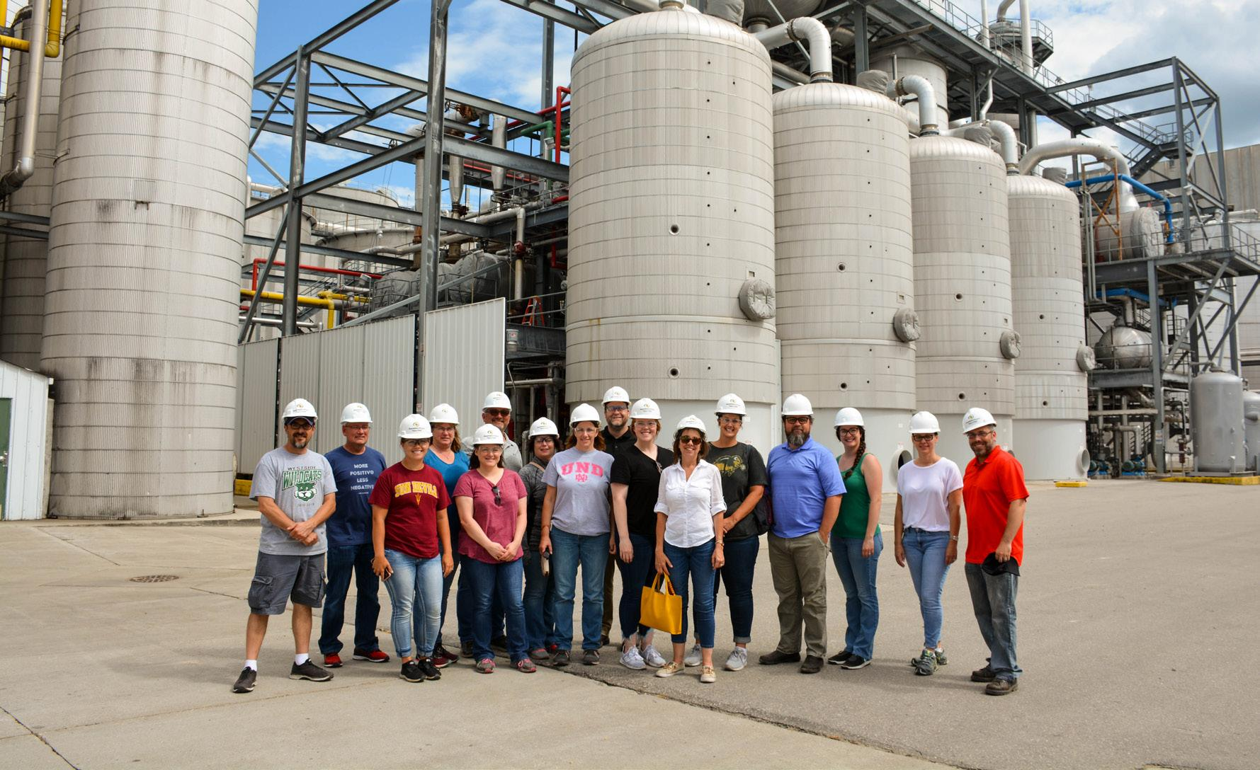 Page 14 of TEACHERS PARTICIPATE IN CORN-ETHANOL COURSE