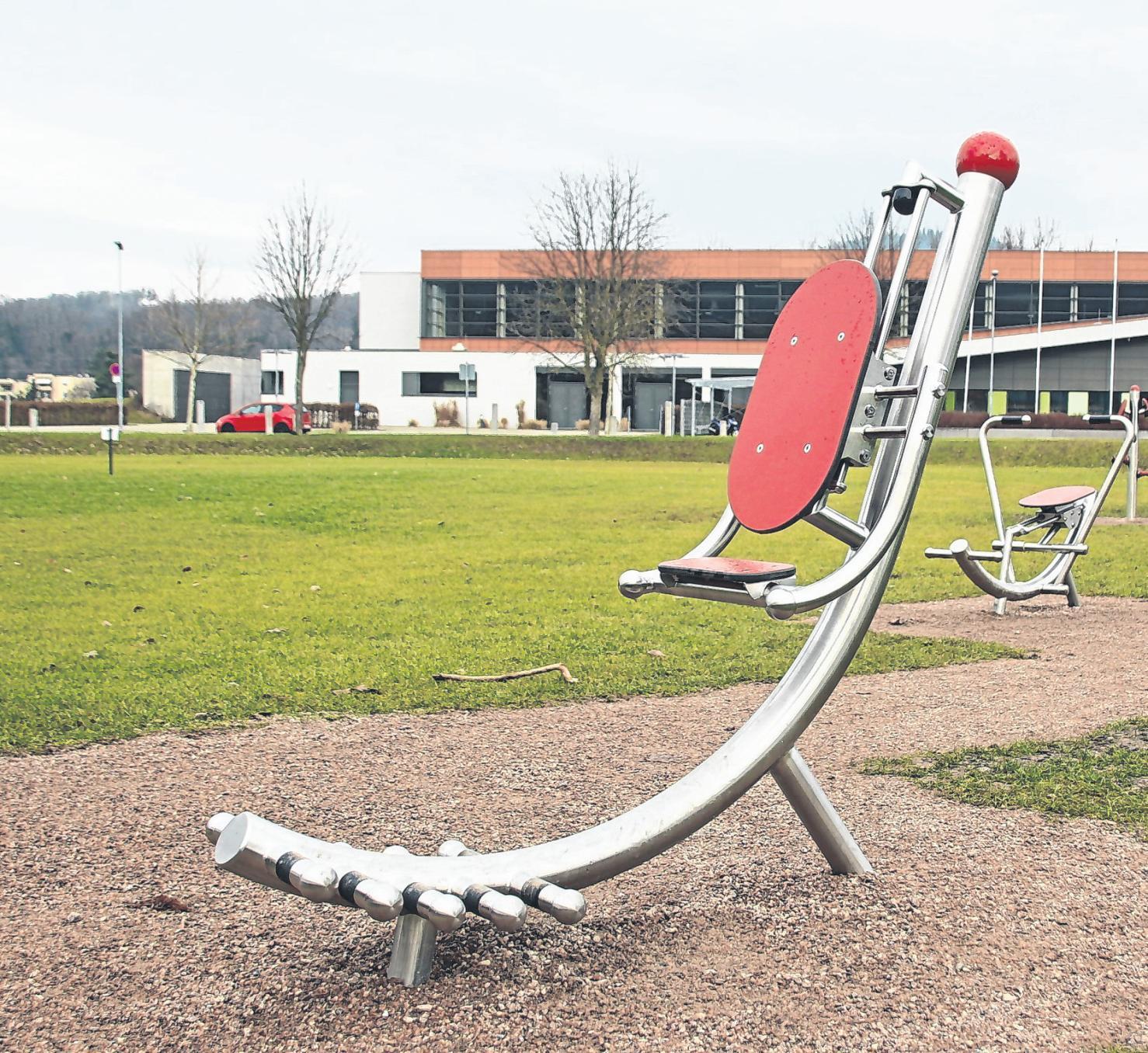 Page 18 of Der Fitnessparcours in Maulburg steht allen offen