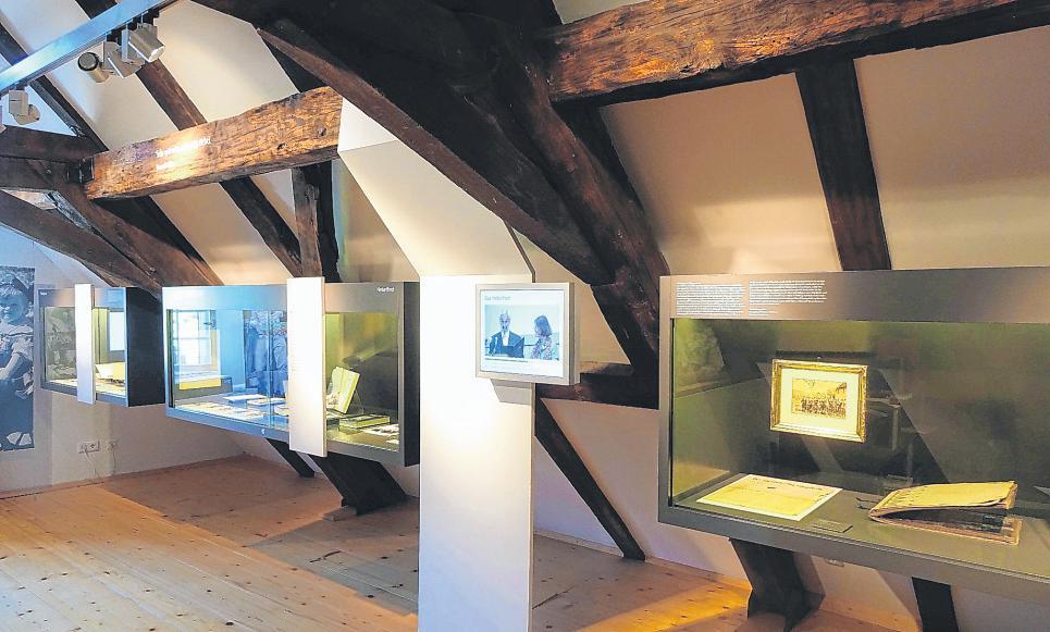 Page 20 of Das Hebelhaus in Hausen ist ein modernes Dichtermuseum