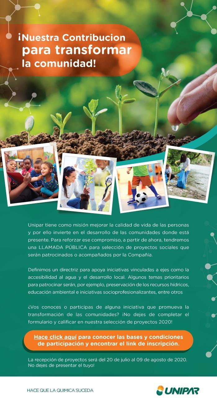 Page 20 of UNIPAR financiará proyectos de organizaciones sociales