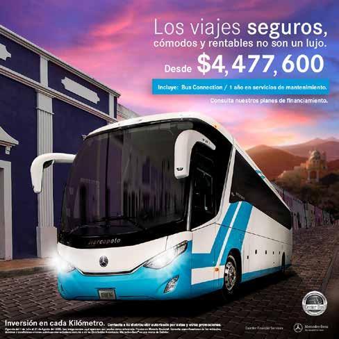 Page 35 of Mercedes-Benz Autobuses con atractivos planes para adquirir unidades