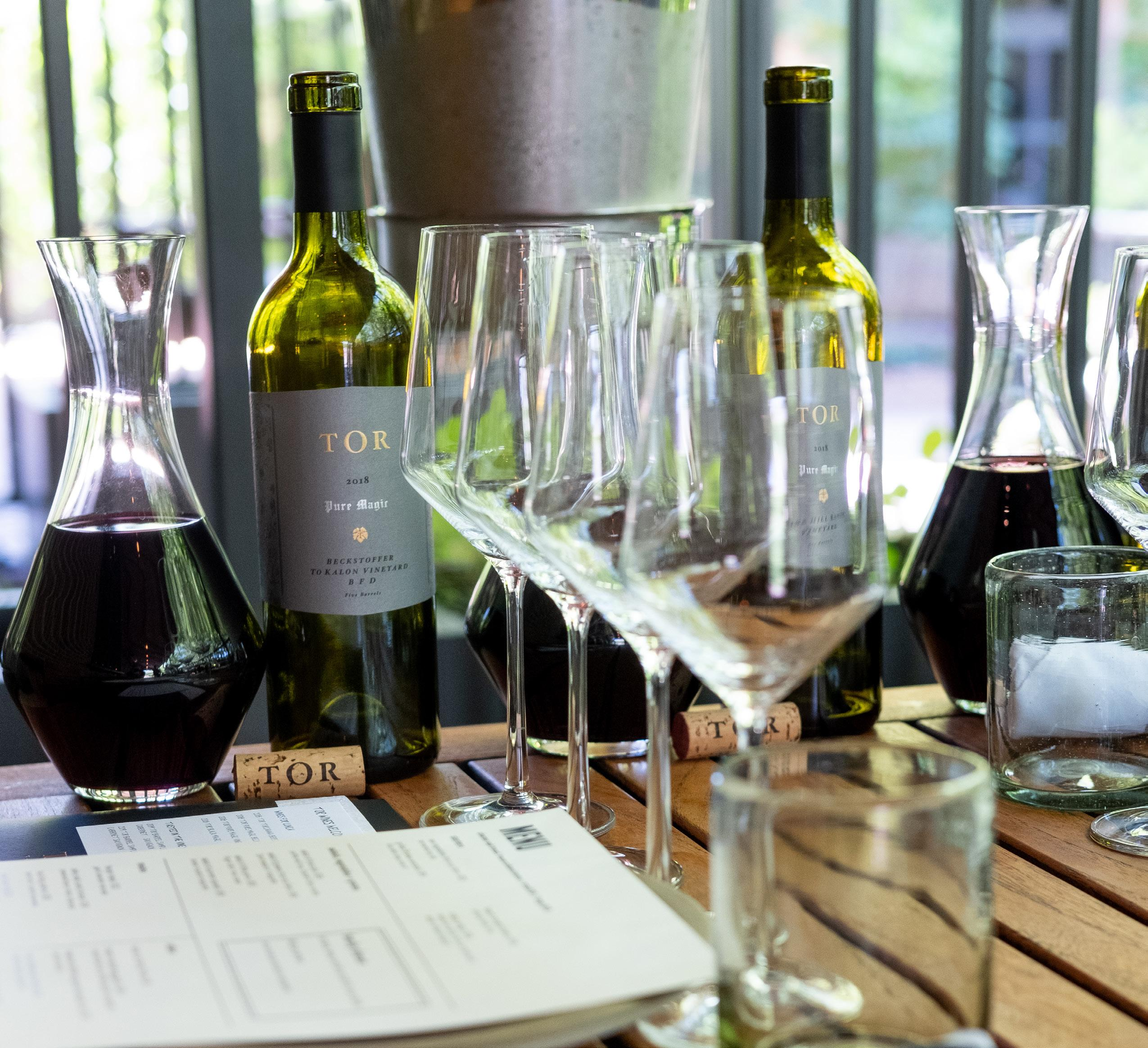 Page 58 of TOR Napa Valley Announces Four New Private Tasting Experiences for Summer and Harvest