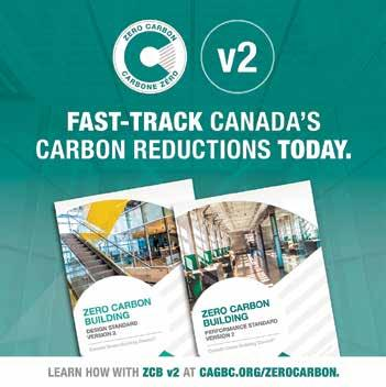 Page 28 of CaGBC's updated Zero Carbon Building Standard fast-tracks carbon reductions by balancing rigour and flexibility