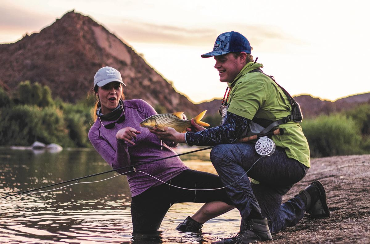 Page 20 of WOMEN IN WADERS FISHING GUIDE ANTHEA PIATA