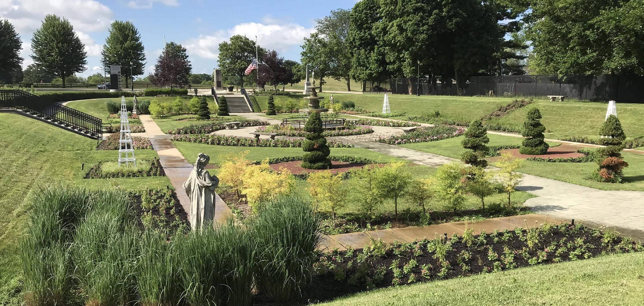 Page 62 of Hidden Landscape Gems The Sunken Garden at Phillips Park