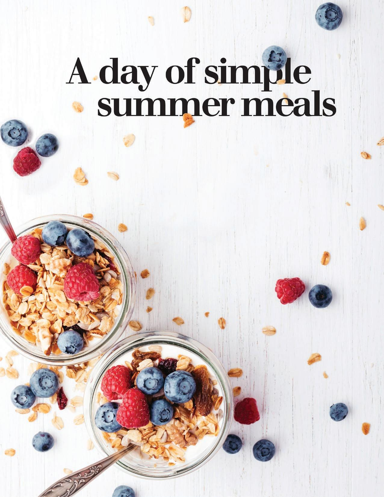 Page 18 of A day of simple summer meals