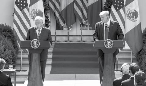 Page 10 of Se Representó con Decoro y Dignidad a los Mexicanos en visita a Washington: López Obrador