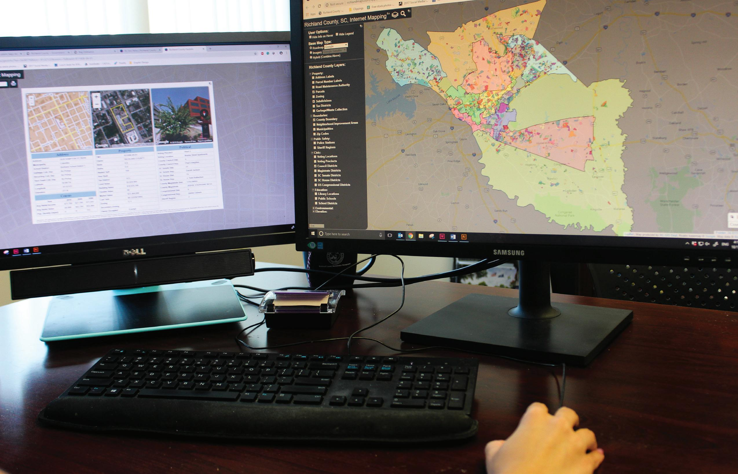 Page 22 of County Spotlight: GIS