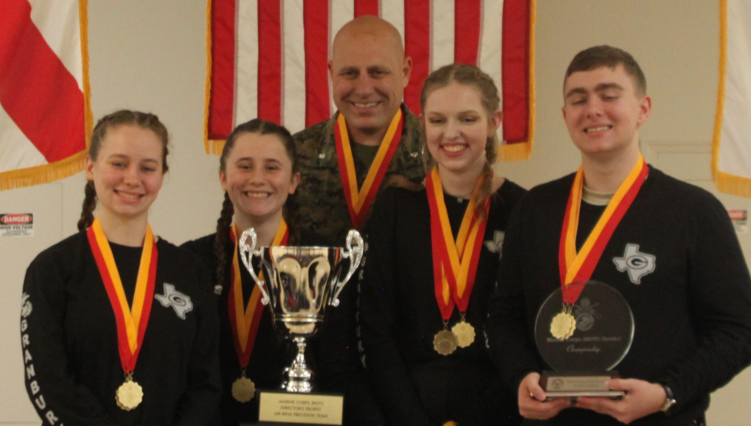 Page 24 of NRA Club Spotlight: Granbury Marine Corps JROTC