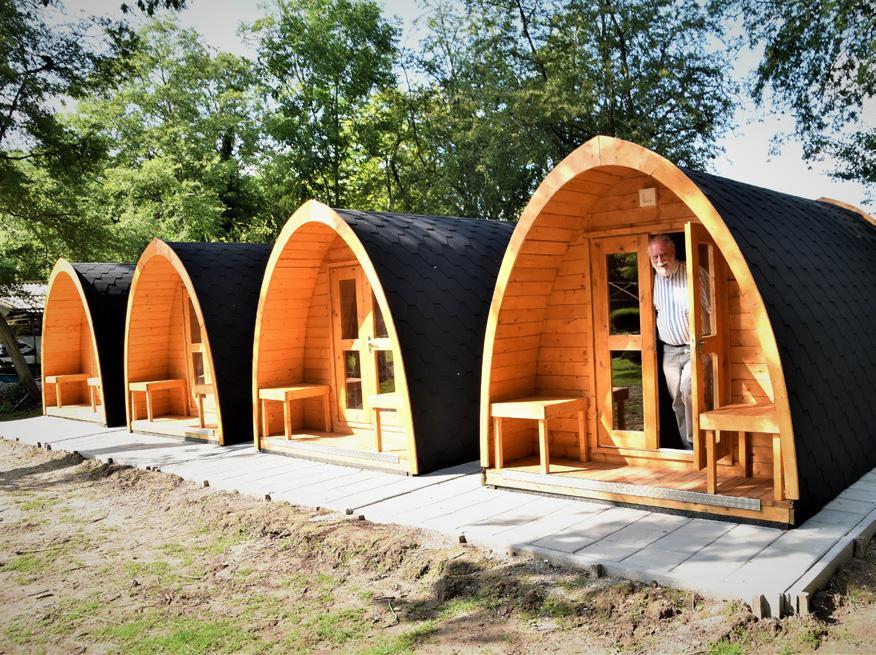 Page 12 of Nieuwe duurzame accommodaties: POD's en Ecohuisje