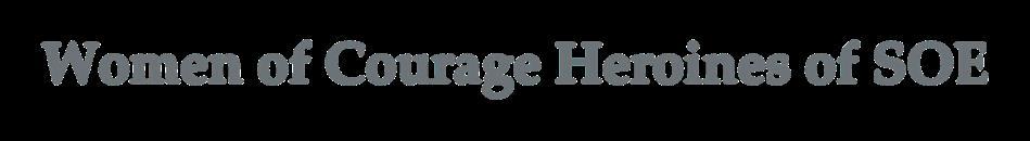 Page 22 of Women of Courage Heroines of SOE by Hannah Howe