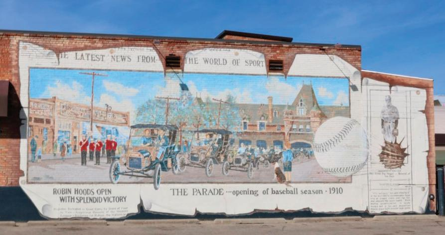 Page 17 of Grand Murals Depict Early Life of Community's History